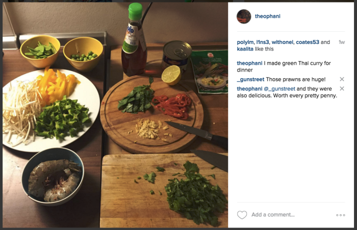 Instagram of Thai Green Curry