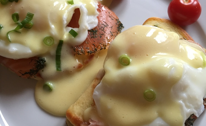 Something like Eggs Benedict